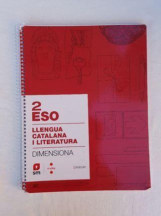Libro escolar 2 Eso LLENGUA CATALANA Y LITERATURA