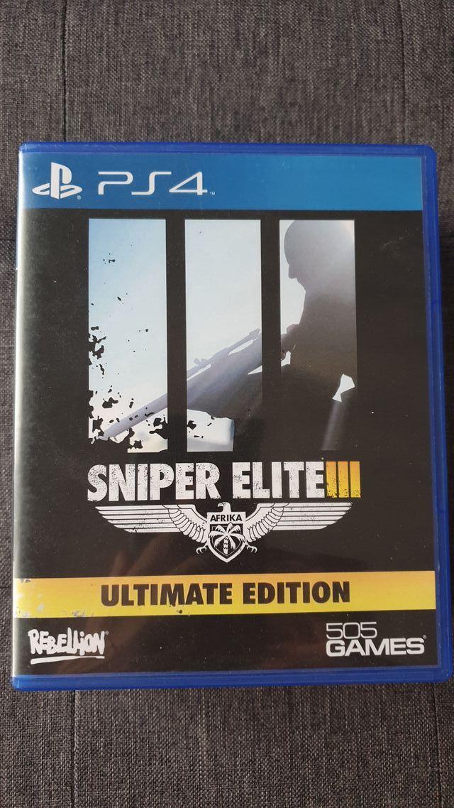 Sniper Elite III 3 Ps4