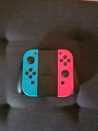 Mandos Nintendo Switch Joy-con + adaptador