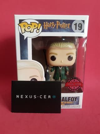 Draco Malfoy (Quidditch) Harry Potter Funko Pop