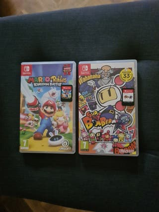 Mario Rabbids + Bomberman Nintendo Switch