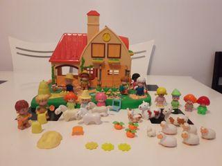 Casa granja de pin y pon