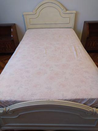 somier con colchón