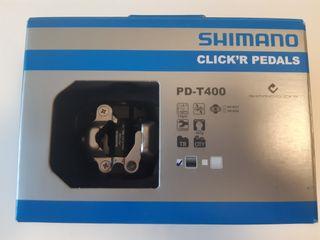 Pedales automáticos Shimano iniciación