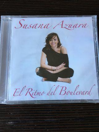 SUSANA AZUARA CD EL RITMO DEL BOULEVARD