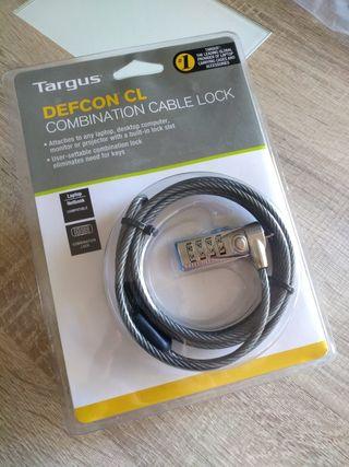 Cable de seguridad para portátil