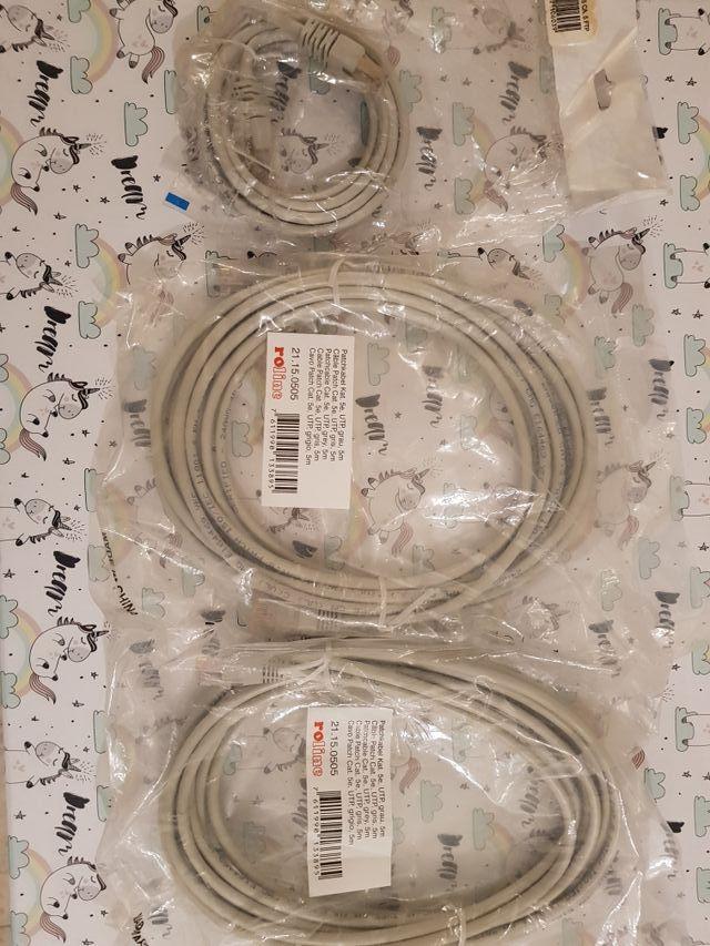 Cable de Red Etherbet RJ-45