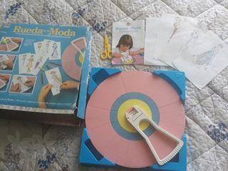 juego antiguo RUEDA DE LA MODA 1982
