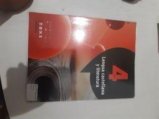 Llibre 4 ESO llengua catalana i literatura