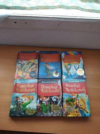 Libros Gerónimo Stilton en el reino de la Fantasía