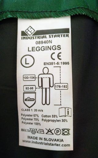 Pantalón motosierra anticorte