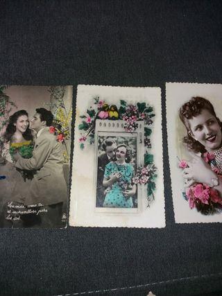 Tarjetas postales años 50-60