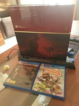 PS4 + mando edición única