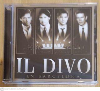 IL DIVO (EN BARCELONA) CD + DVD 2009