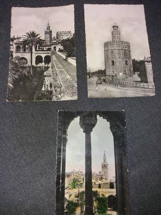 Postales Sevilla años 60