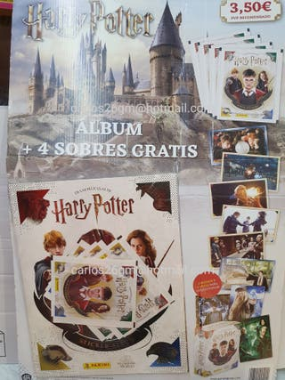 Album Harry Potter+ 4 Sobres