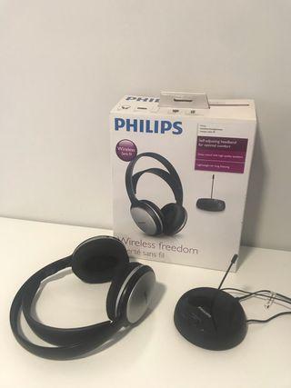 Auriculares Phillips Fm inhalambricos