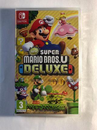 New Super Mario Bros precintado nintendo switch