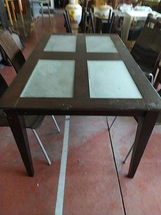 conjuto mesa y sillas