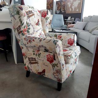 Butaca sillon mecedora NUEVO distintas telas