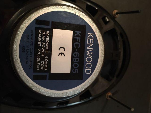 Altavoces KENWOOD