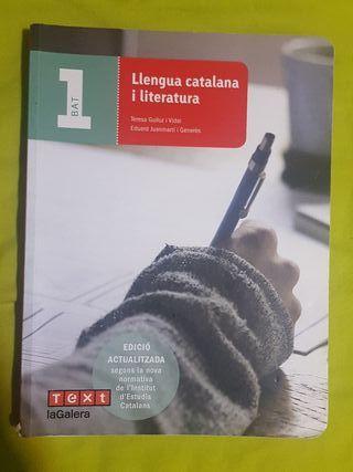 Libro Lengua y Literatura Catalana