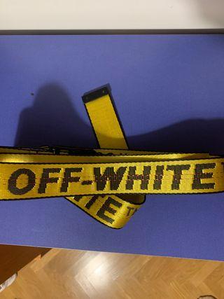 Cinturón Off White