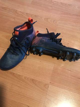 Zapato deporte fútbol