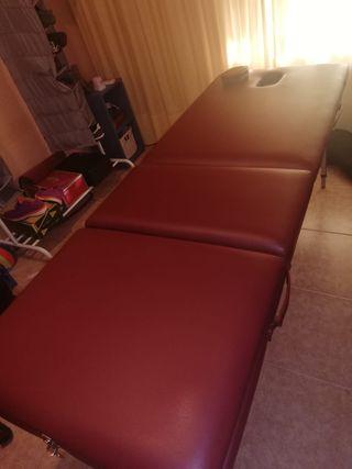 Camilla masaje portátil con funda de transporte