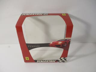 CARTÓN ORIGINAL PACK 2 FERRARI 1/32 SCALEXTRIC