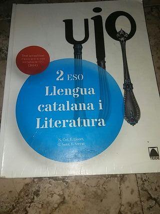LIBRO LLENGUA CATALANA Y LITERATURA 2 ESO
