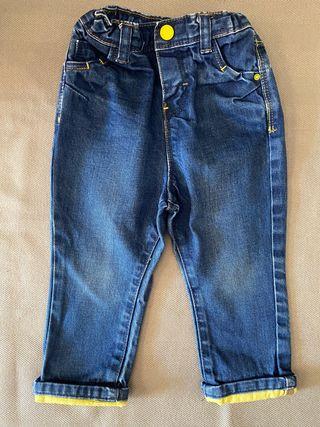 Pantalón bebe vaquero OBAÏBI 18 meses 81 cm