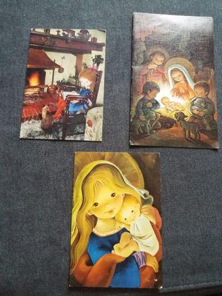 Tarjetas postales años 60-70