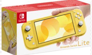 Nintendo Switch amarilla