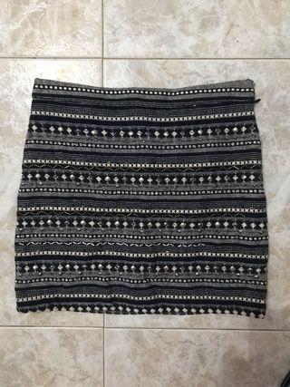 Falda de lentejuelas de springfield talla 34