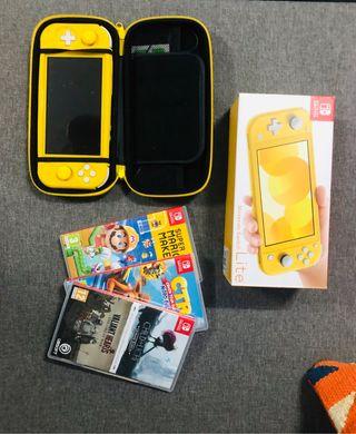 Nintendo Switch Lite juegos y extras