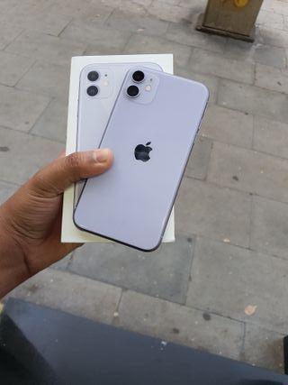 I PHONE 11 64GB LILA