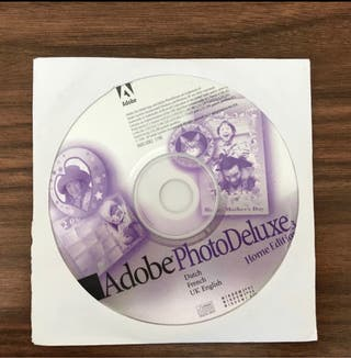 90b software vintage Adobe photo deluxe home