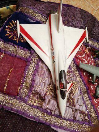 lote de 4 aviones de juguete vintaje de colección