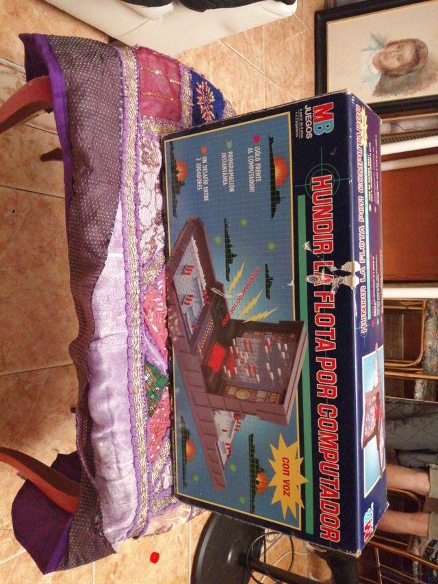 juego vintaje hundir la frota por computador