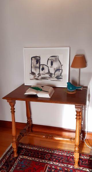 mesa antigua restaurada