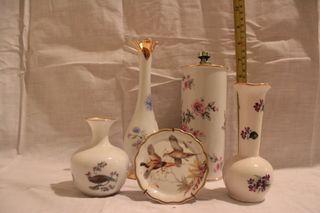 lote porcelana decorativa