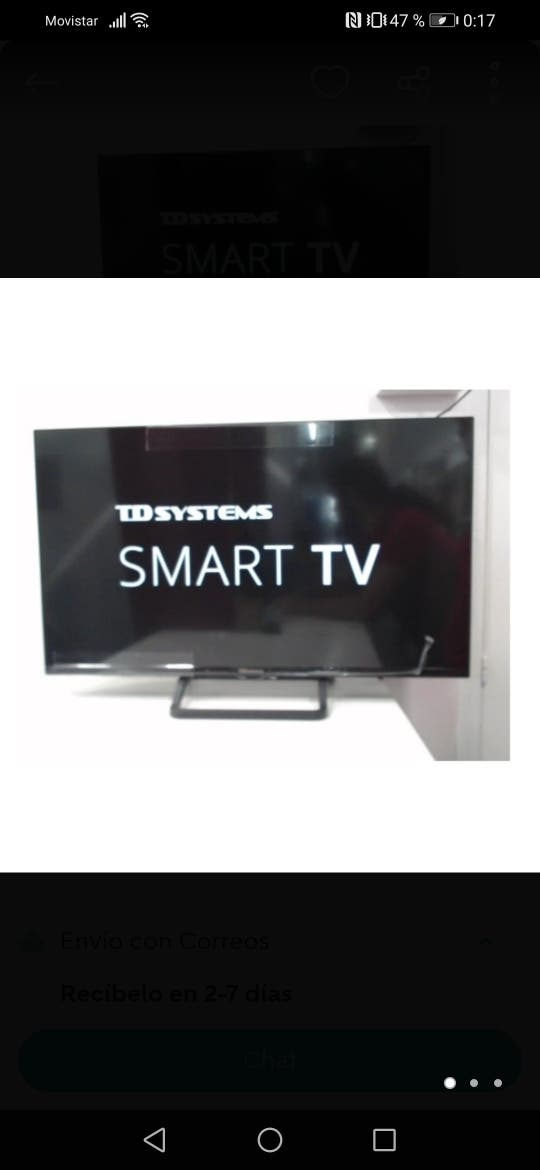 "televisión TD SYSTEMS 32"" SMART TV"