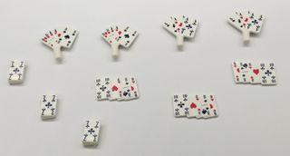 Playmobil Lote Cartas Poker Western