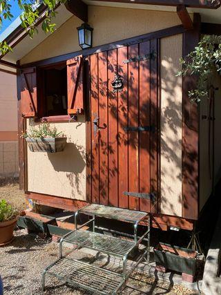 Caseta madera 4x2,5 metros (10 metros cuadrados)