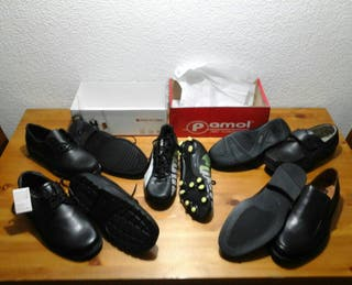 lote de Zapatos T44 piel