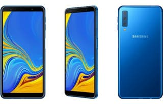 Samsung A7 Azul