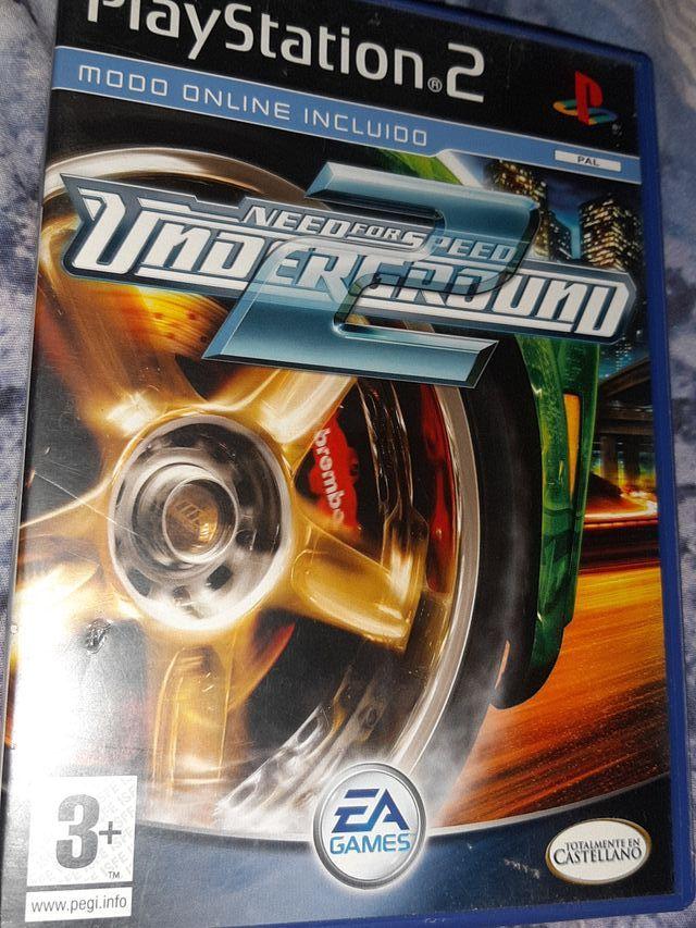 Caratulas Vacia De Need For Speed Underground 2 De Segunda Mano