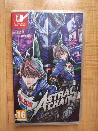 Astral Chain Switch Precintado