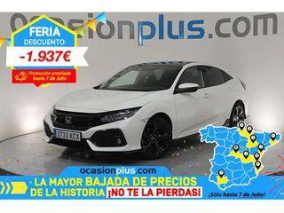 Honda Civic 1.5 I-VTEC Turbo Sport Plus CVT 134 kW (182 CV)